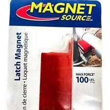Magnet Source 07202 Latch Magnet 100 Lbs 45 Kg 6 In L X 75 In W X 1 In H