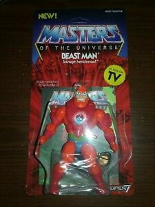 Masters of the Universe vintage Wave 2 Beast Man Super 7 S7 He-Man figure filmation Global