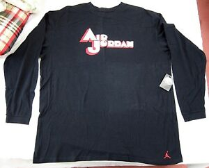 b46063505f7f XXXL 3XL JORDAN SPORT Air Jordan Jumpman Long Sleeve T-Shirt Black ...