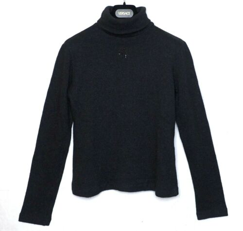 FENDI sweater zucca US6 40 S jumper wool angora la