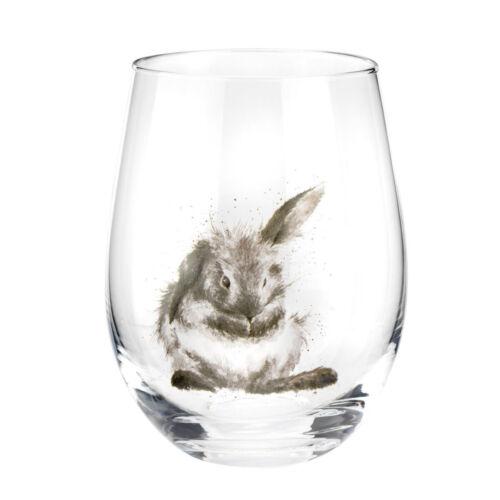 Wrendale designs Set de 4 Gobelet verres Animal Imprimé verrerie Set Cadeau