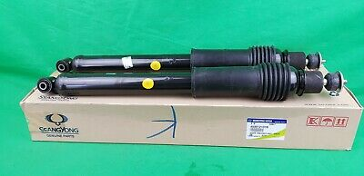 SSANGYONG STAVIC MPV A155 SERIES 2.0 L TURBO DIESEL REAR AXLE SHOCK ABSORBER SET