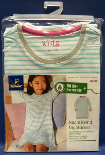 TCM Tchibo Mädchen-Nachthemd Nightdress mit Bio-Baumwolle 110//116