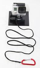 1m GoPro Tether Secure Strap Lanyard & Carabiner Clip Hero Black Climbing SJ4000