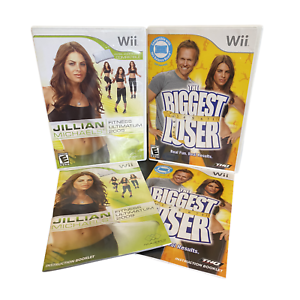 The Biggest Loser Challenge & Jillian Michaels Fitness  Nintendo Wii Game