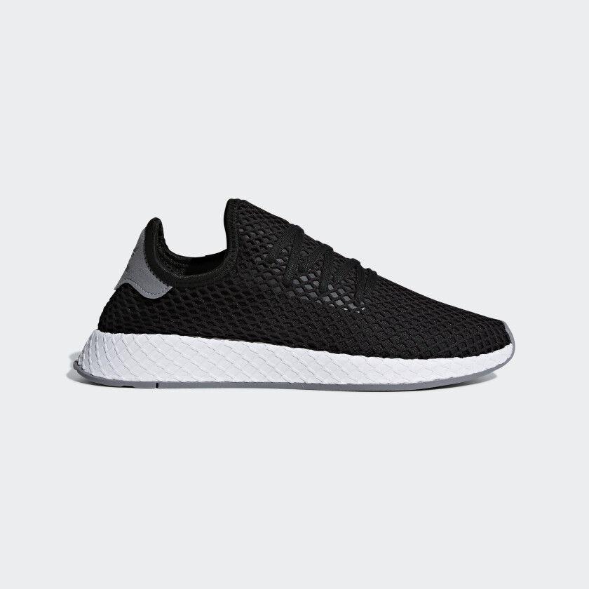 Adidas Originals Deerupt Runner Black White Mens Lifestyle Sneaker B41765