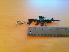 M4 Carbine with scope - Metal Keychain Gun Key Chains (KC4)