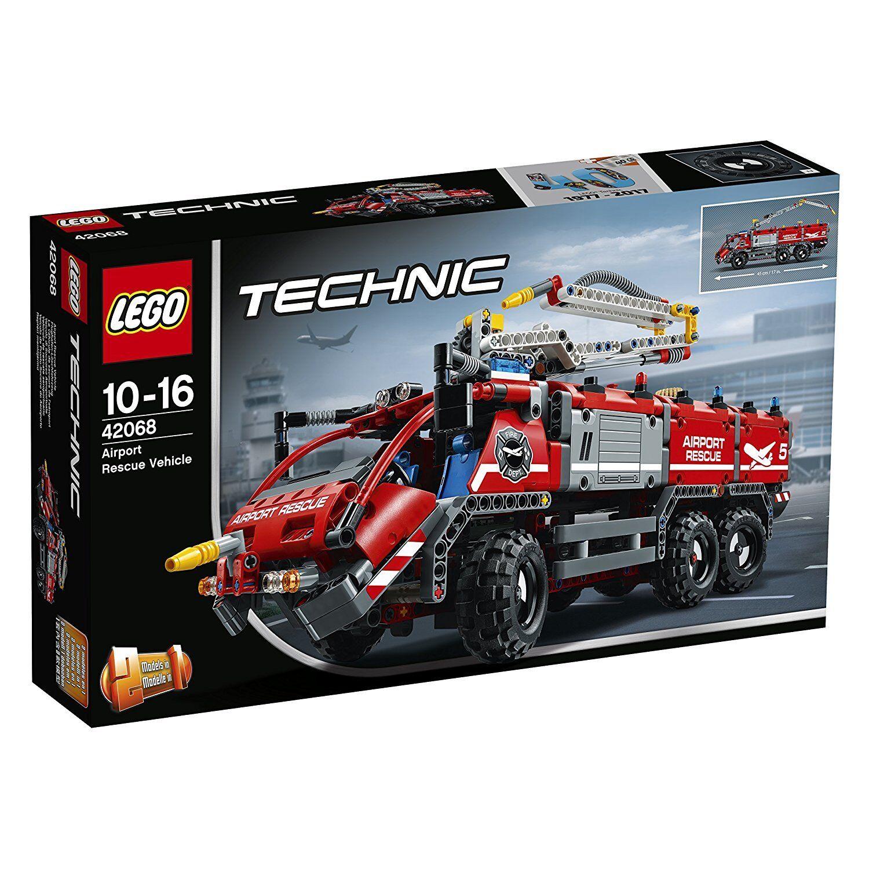 LEGO Technic 42068 Veicolo di Soccorso Aeroportuale costruzioni mattoncini