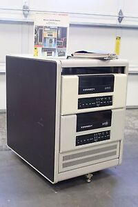 Pair-of-Kennedy-9610-Front-Loading-9-Track-Tape-Drive-Rack-Cabinet-DEC-Power-Sup
