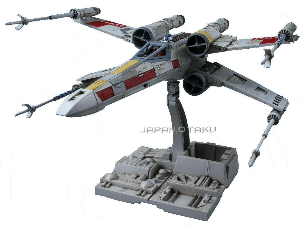 BANDAI 1  72 stjärnornas krig X -vinge modellllerlerl Kit Luke Skypromänader Ep 4Ver