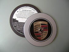 Magnetic Tax disc holder fits porsche panamera gt 911 boxster cayman cayenne pra