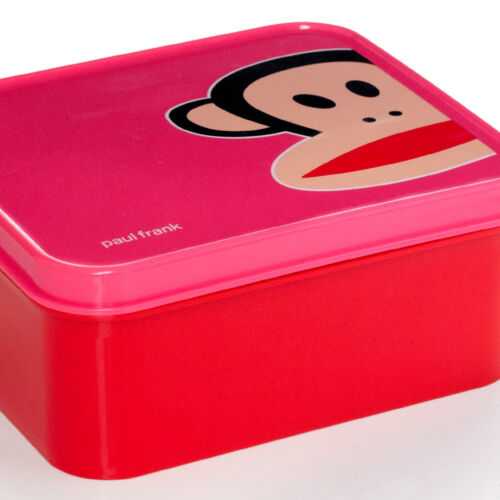 20300000 Paul Frank Red//Pink Lunch Box