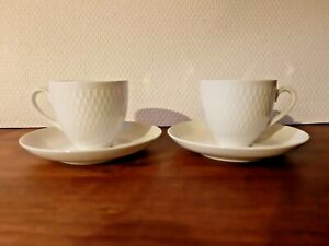 Royal Copenhagen Wheat Cup and Saucer