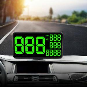 6-2-034-Car-C1090-GPS-HUD-Head-Up-Pantalla-Digital-Velocimetro-Panel-de-advertencia-km-h
