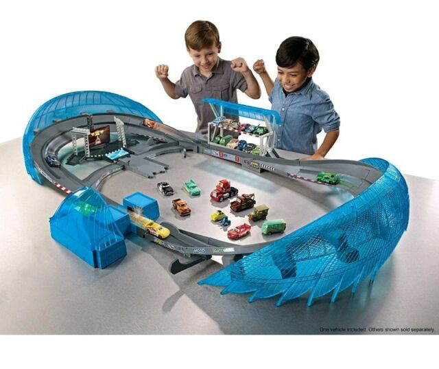 Incredible Disney Pixar Cars 3 Ultimate Florida Speedway Race Car Track Set New Sealed Download Free Architecture Designs Scobabritishbridgeorg