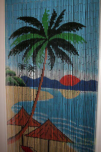 Handmade Palm Tree Blind Curtains