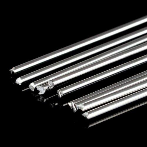 10PCS 33cm//1.08ft 1.6mm Solution Welding Flux-Cored Rods Aluminum Wire Brazing T
