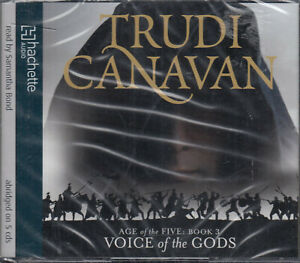 Voice-of-the-Gods-Trudi-Canavan-Age-Of-Five-Book-3-5CD-Audio-Book-NEW-FASTPOST