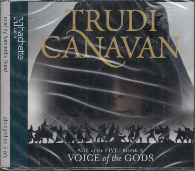 Voice of the Gods Trudi Canavan Age Of Five Book 3 5CD Audio Book NEW* FASTPOST