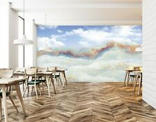 3D Art Marble Sky 248RAIG Wallpaper Mural Self-adhesive Removable Sticker Amy