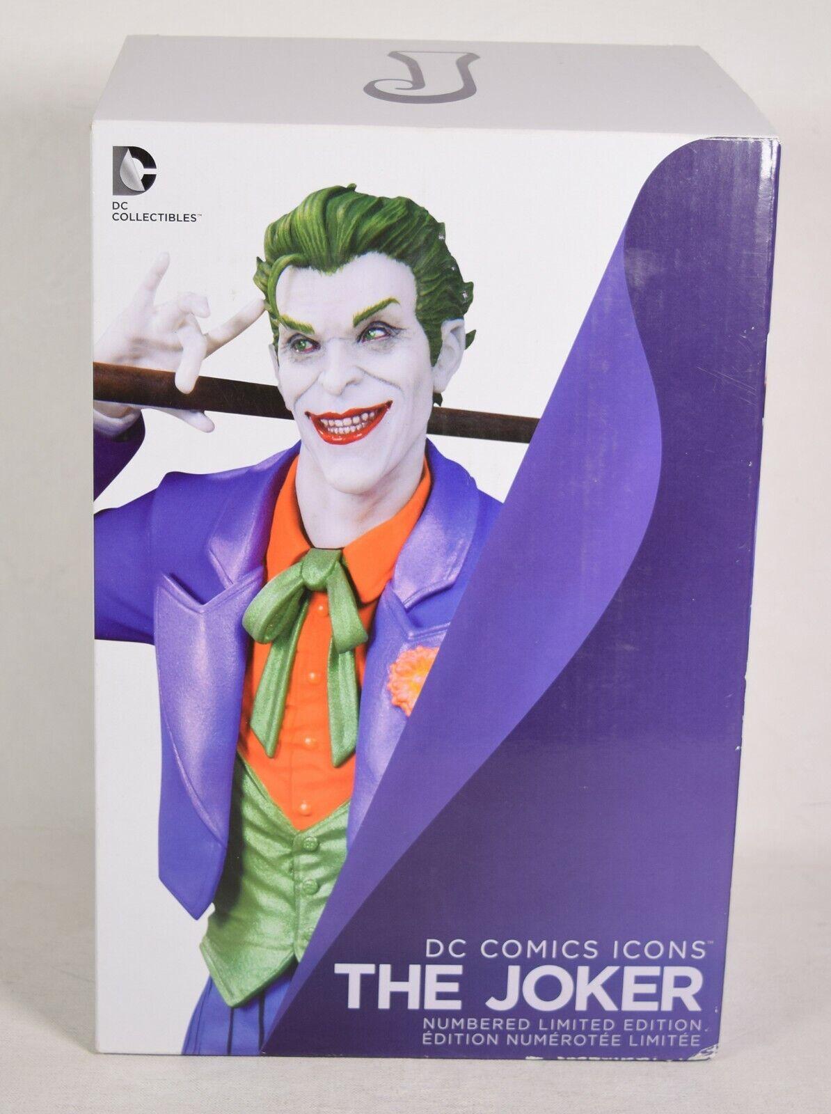 DC Comics Icons The Joker Statue 10   Alan Sales Batuomo  ti renderà soddisfatto