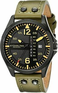Stuhrling-Original-Aquadiver-Mens-Dive-Watch-Quartz-Analog-Waterproof-664-02