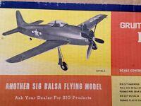 control line model airplane kit SIG Bearcat F-8-F