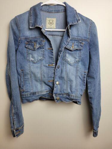 Womens Jean Jacket Small Wax Jeans - image 1
