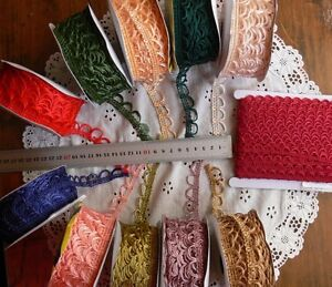 Looped-Polyester-Braid-11mm-amp-15mm-Wide-3-amp-5-Metres-11-Colour-Choice-SRBox