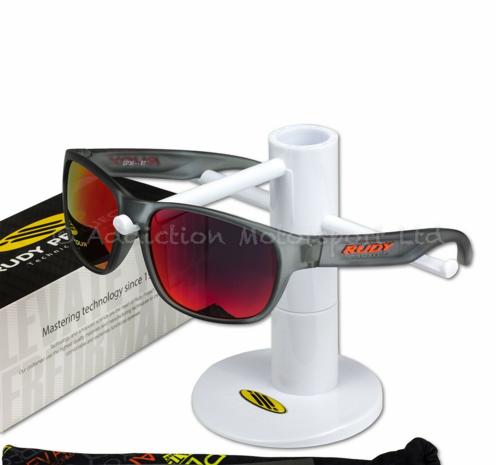 d0cacaf6f The Spinhawk SP313887 comes with an official Rudy Project Sunglasses 1 year  guarantee.