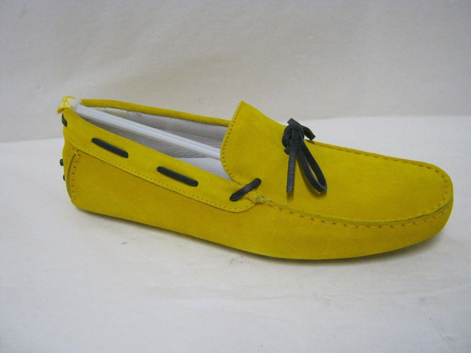 Mocassini uomo BIKKEMBERGS in in in pelle camoscio colore giallo N°45 f6c41e