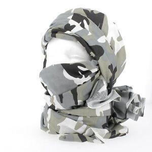 Chèche coton camouflage urbain état neuf   chech foulard écharpe ... 93d00cf9764