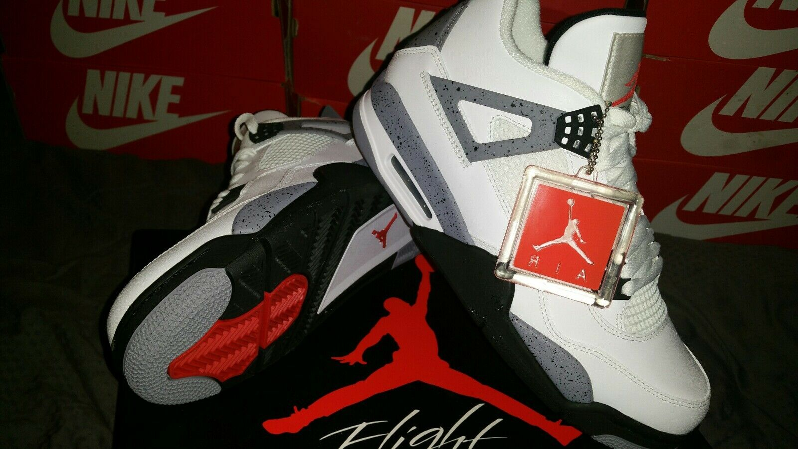 Jordan 4 Retrò Air cemento