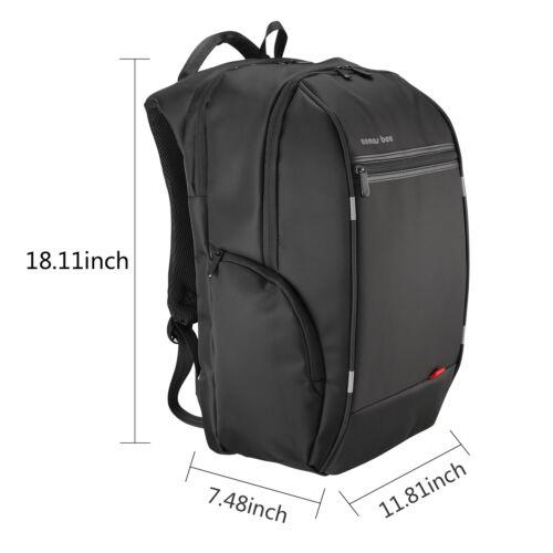 USB Charge Compute Travel School Bag Waterproof Notebook Daypack Laptop Backpack