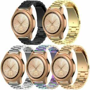 20mm-Edelstahl-Armband-Uhrenarmband-fuer-Samsung-Galaxy-Watch-R815-Active-R500