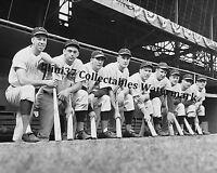 1940 CINCINNATI REDS WORLD SERIES CHAMPIONS 8X10 TEAM PHOTO STARTING LINE UP