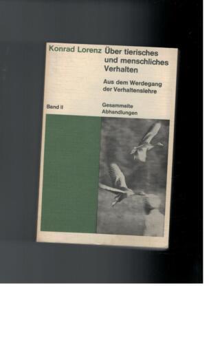 1 von 1 - Konrad Lorenz - Über tierisches und menschliches Verhalten Band 2 - 1971
