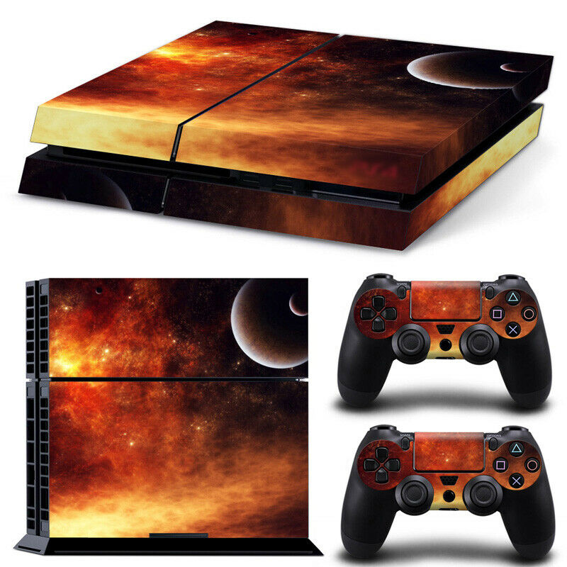PLANET Theme For PlayStation 4 Console PS4 Skin Vinyl Sticker (OFFERS WELCOME)