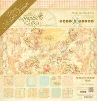 Graphic45 Baby 2 Bride Deluxe Collector's Edition Scrapbooking Vintage