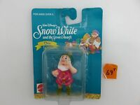 Snow White And The Seven Dwarfs Doc 2 Plastic Figure Unopened Disney Mattel