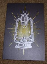 THIRD MAN RECORDS Lantern Holiday Card Postcard poster print Jack White Stripes