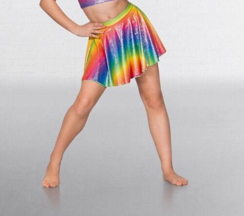 1st Position Foil Rainbow Circular Dance Skirt