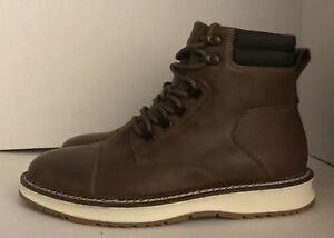 special sales pretty cheap top brands Details about NEW Men's Braden Casual Fashion Boots Brown White Soles Size  10.5 NWT
