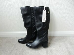 Ladies leather boots size 8 Real