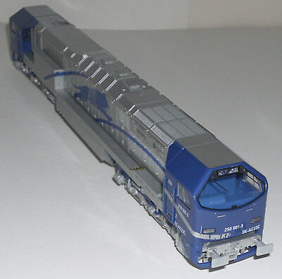 "H0 Mehano T162: Diesellok 250 (DE-AC33C) ""Blue Tiger"" DB Adtranz 250 001-5"