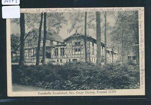 30379) Lübeck Ak Forestière Halle Israelsdorf... Bahnpost Lübeck-lüneburg Z.251-afficher Le Titre D'origine Les Clients D'Abord