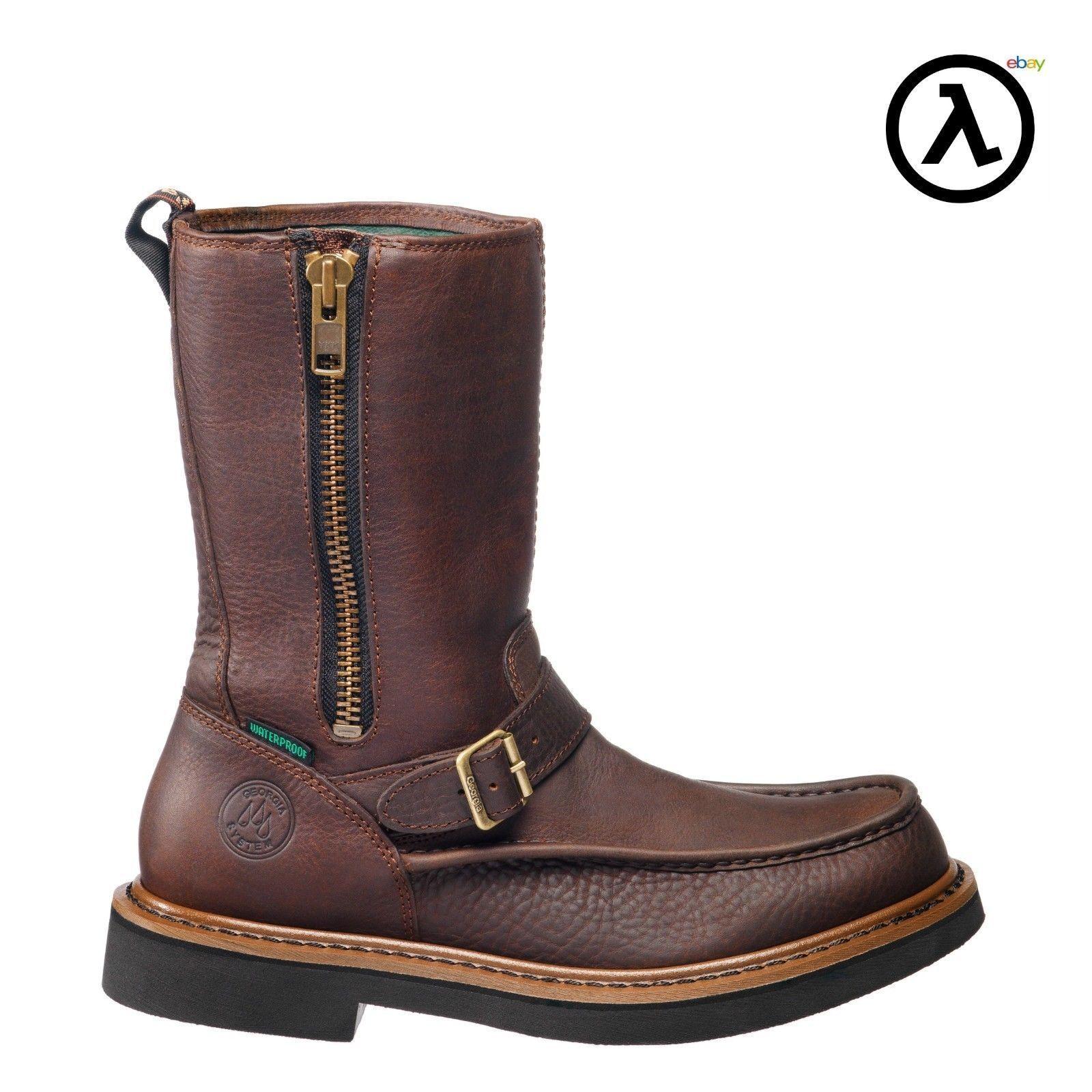 Lateral cremallera, Georgia, Wellington, botas de impermeable, g4124