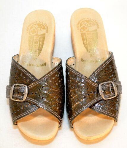 Worishofer Original Footprint Charcoal Metallic Le