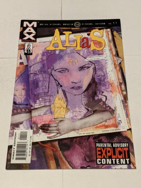 Alias #11 September 2002 Marvel Comics Bendis Gaydos JESSICA JONES
