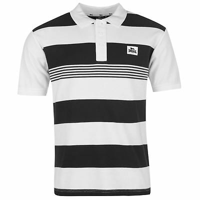 Competente Polo Homme Lonsdale (du S Au Xxl) (taille Grand) Neuf